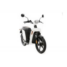 aAskoll ES2 Electric Moped White Front Right