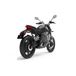 Super Soco TSx Electric Motorcycle Black Rear Right