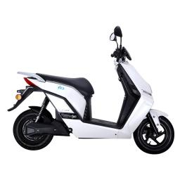 Lifan E3 LF1200DT Electric Moped Scooter White Right