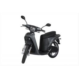 Askoll NGS3 Electric Moped Titanium Front Left