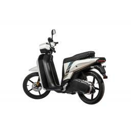 Askoll NGS2 Electric Moped White Front Left