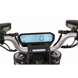 Super Soco TSx Electric Motorcycle Dashboard