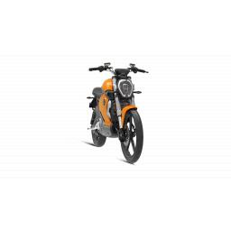 Super Soco TS1200R Electric Motorcycle Orange Front