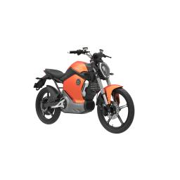 Super Soco TS1200R Electric Motorcycle Orange Front Right