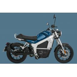 Horwin CR6 Electric Motorcycle Blue RHS