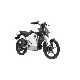 Super Soco TS1200R Electric Motorcycle White Front Right