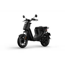 Niu UQiGT Pro Electric Scooter Black Front Left