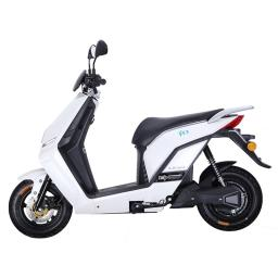 Lifan E3 LF1200DT Electric Moped Scooter White Left