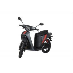 Askoll NGS2 Electric Moped Titanium Front Left