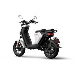 Niu UQiGT Pro Electric Scooter White Rear