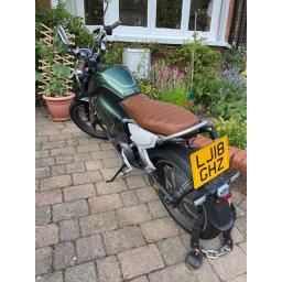 Super Soco TC Electric Moped 1500w Pre-owned Rear View