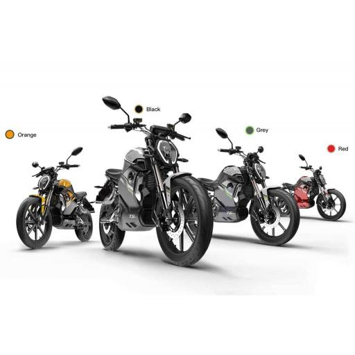 Vmoto Super Soco TSx Electric Motorcycle Line-up