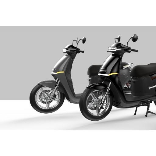 Horwin EK3 6.2KW Electric Moped Black Grey