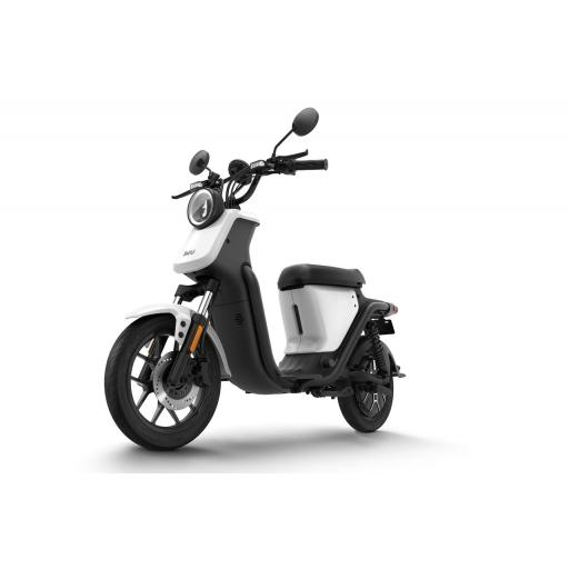Niu UQiGT Pro Electric Scooter White Front Left