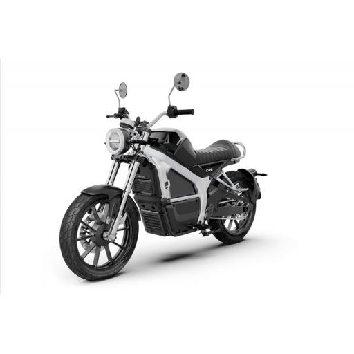 Horwin CR6 Electric Motorcycle Black Front