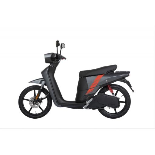 Askoll NGS2 Electric Moped Titanium Left