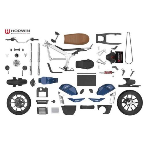 Horwin CR6 Electric Motorcycle Component Parts