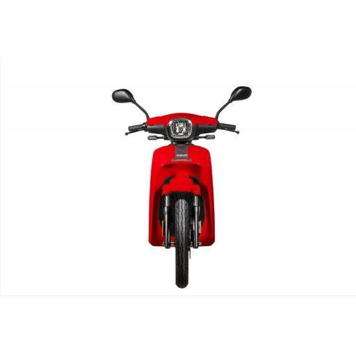 Askoll NGS2 Electric Moped Red Front