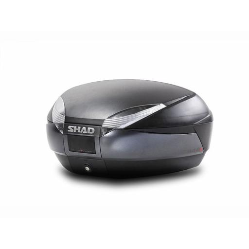 SHAD SH48 Top Box Black / Titanium