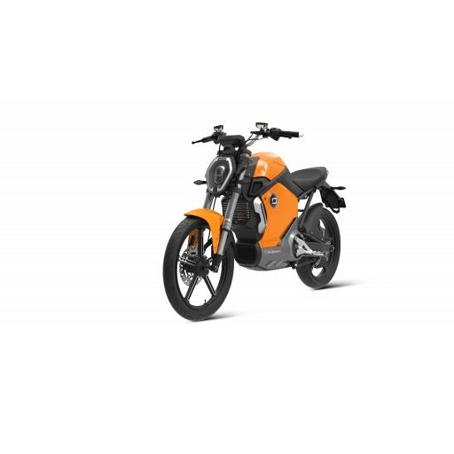 Super Soco TS1200R Electric Motorcycle Orange Front Left