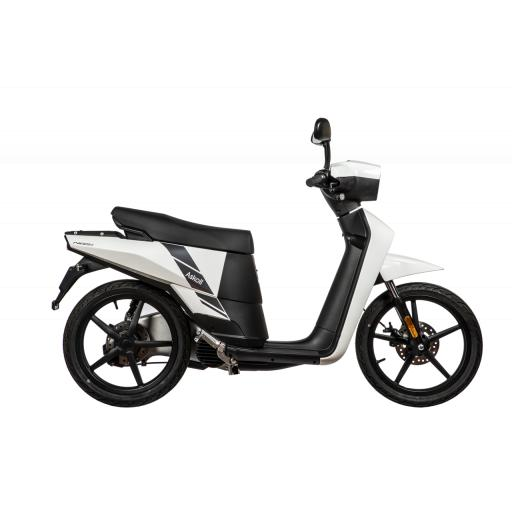 Askoll NGS2 Electric Moped White Right