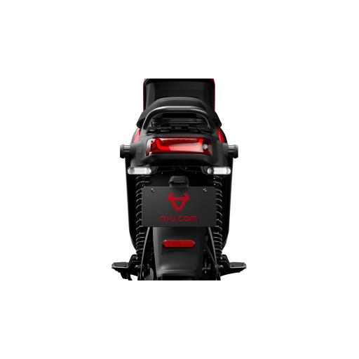 Niu UQiGT Pro Electric Scooter Black Rear