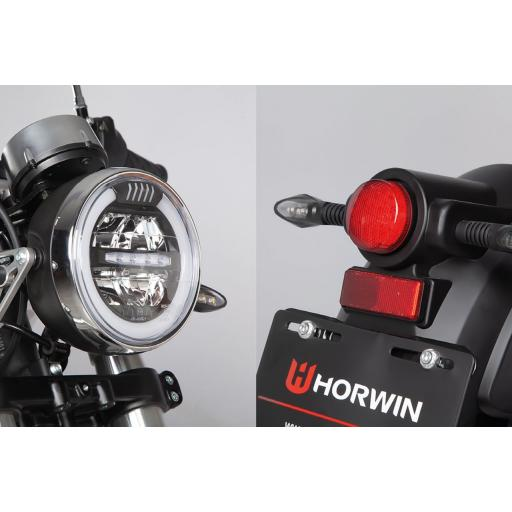 Horwin CR6 Electric Motorcycle Detail View