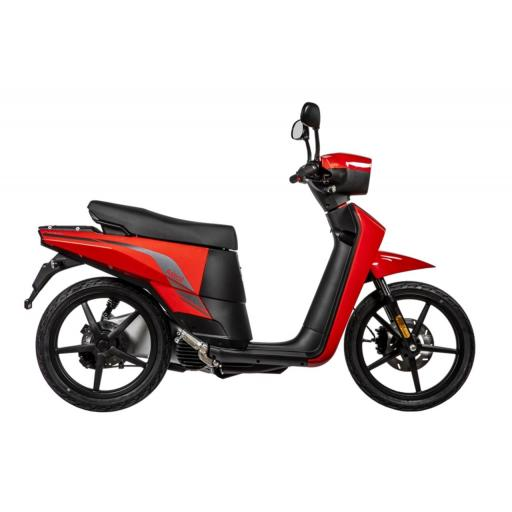 Askoll NGS3 Electric Moped Red Right