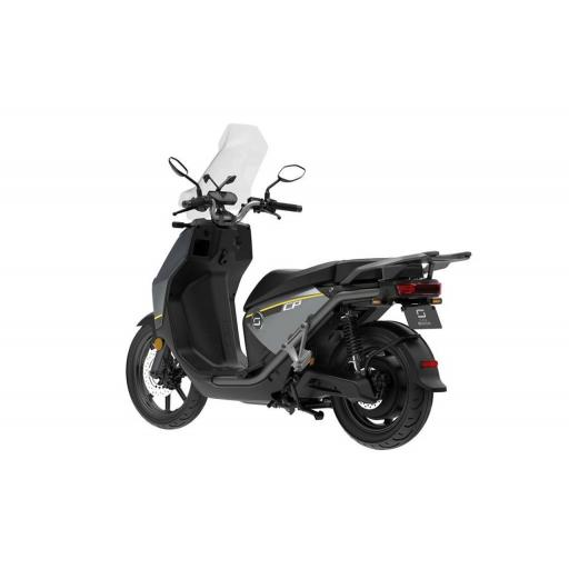 Super Soco CPx Electric Moped Grey Black Left