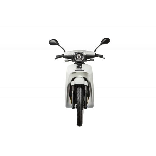 Askoll NGS2 Electric Moped White Front