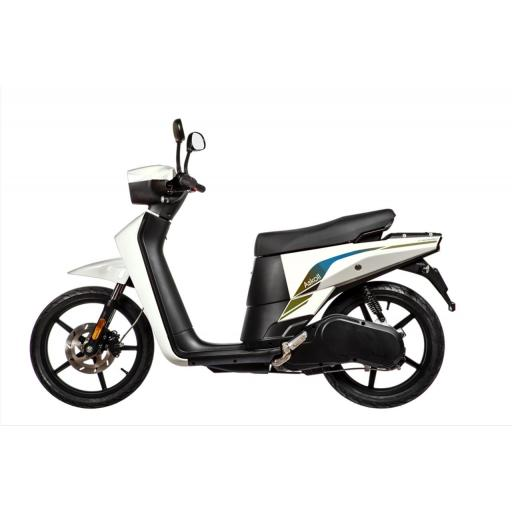 Askoll NGS3 Electric Moped White Left