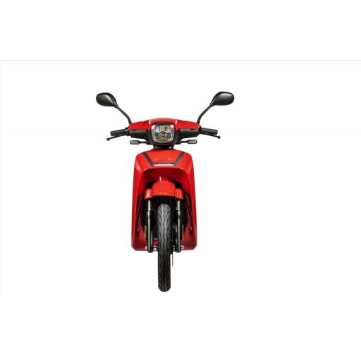 Askoll NGS3 Electric Moped Red Front