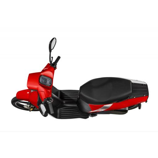 Askoll NGS2 Electric Moped Red Above