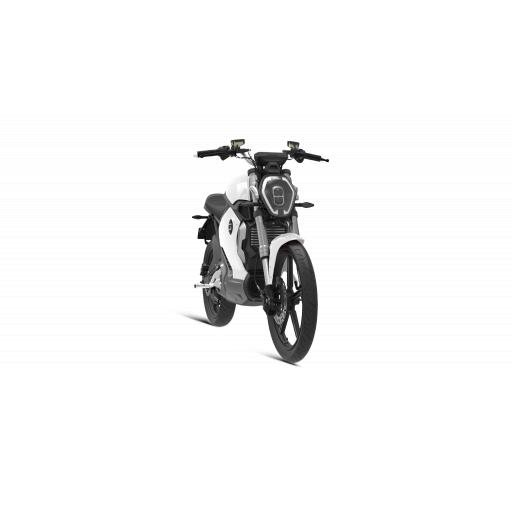 Super Soco TS1200R Electric Motorcycle White Front