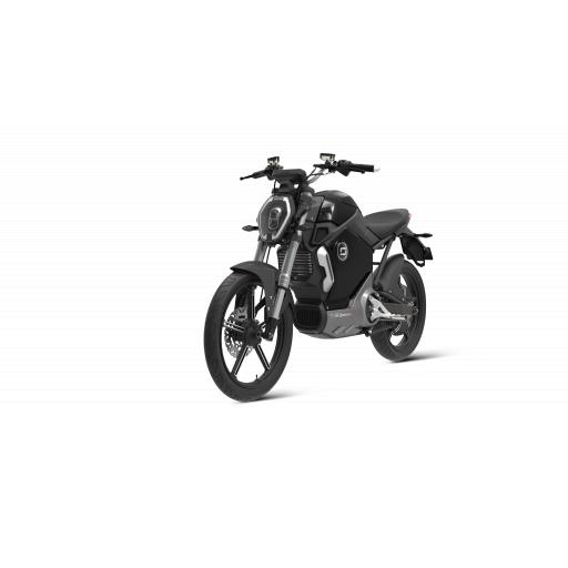 Super Soco TS1200R Electric Motorcycle Black Front Left