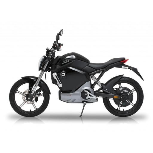 Super Soco TS1200R Electric Motorcycle Black Left