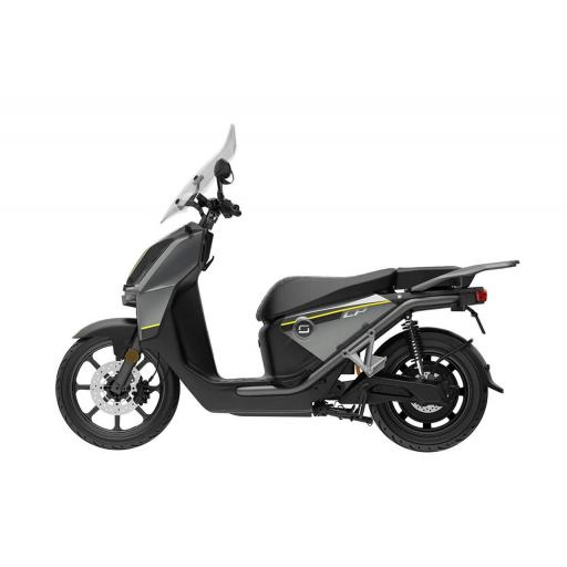 Super Soco CPx Electric Moped Grey Left