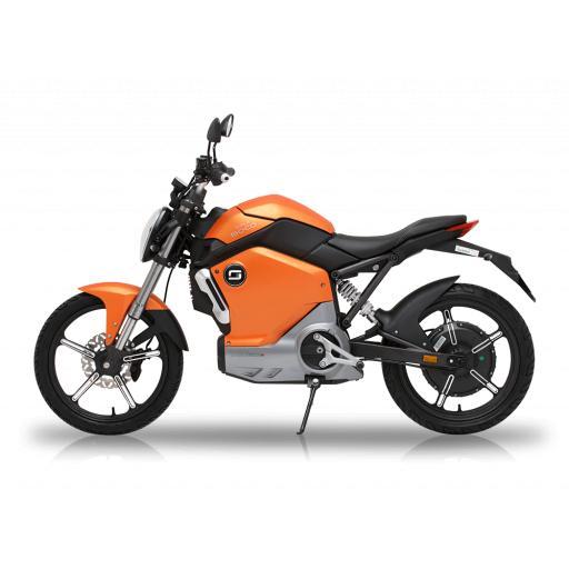 Super Soco TS1200R Electric Motorcycle Orange Left