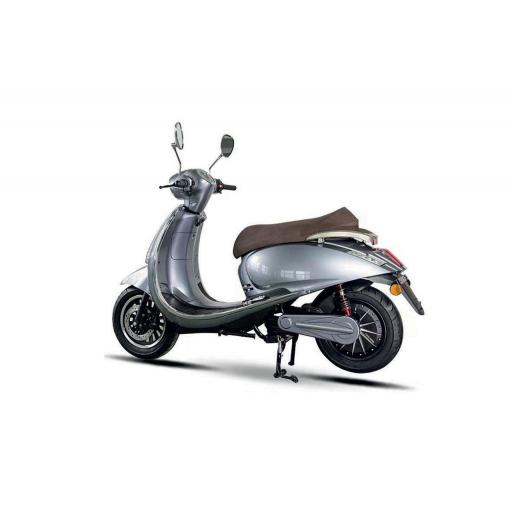 Artisan EVC Electric Moped Rear Left