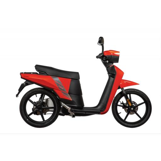 Askoll NGS2 Electric Moped Red Right