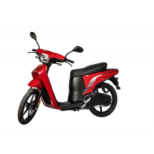 Askoll NGS3 Electric Moped Red Front Left