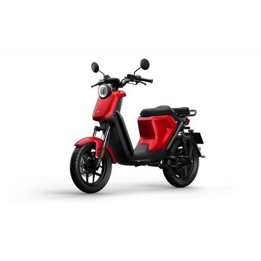 Niu UQiGT Pro Electric Scooter Red Front Left