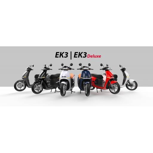 Horwin EK3 6.2KW Electric Moped Range