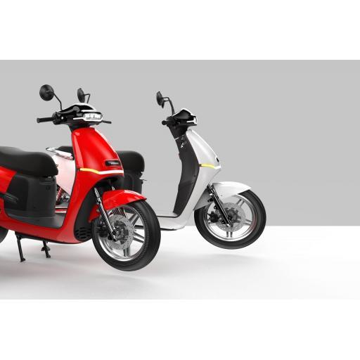 Horwin EK3 Electric Moped Red White