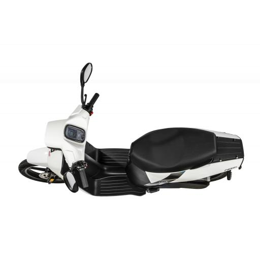Askoll NGS3 Electric Moped White Above