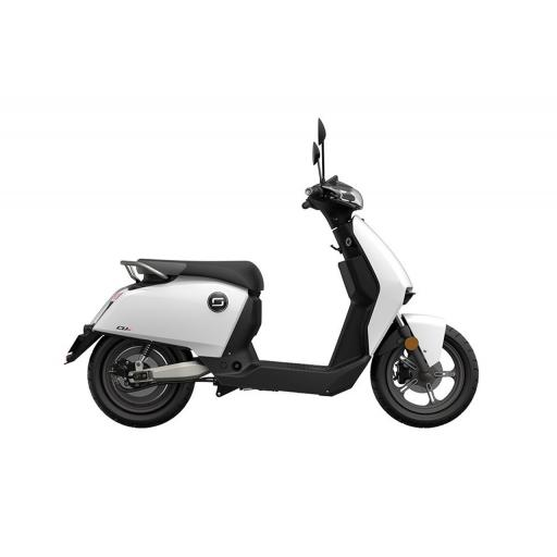 Super Soco CUx Electric Moped White Right