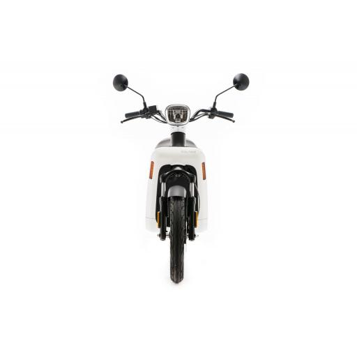 Askoll ES2 Electric Moped White Front