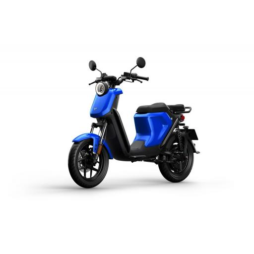 Niu UQiGT Pro Electric Scooter Blue Front Left