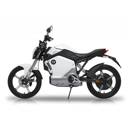 Super Soco TS1200R Electric Motorcycle White Left