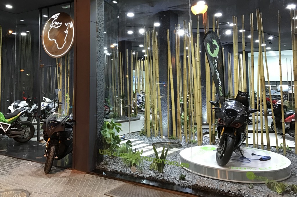 Could an Electric Center be a new retail system for electric motorcycles?